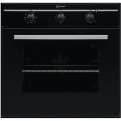 Indesit FIM31KABK Fanned Electric Built In Single Oven in Black