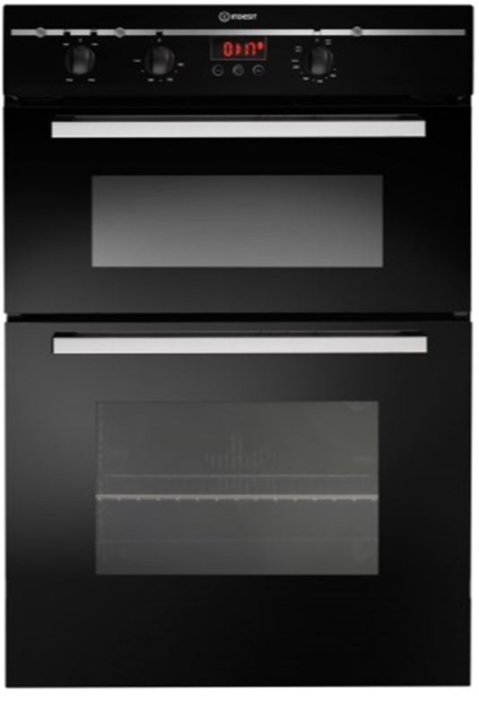 Indesit built in double oven
