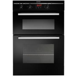 Indesit FIMD23BKS Electric Built-in Double Oven - Black
