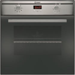 Indesit FIMS73JKCAIX FIM73KCAIX 7 Function Electric Built In Single Oven with Catalytic Liners - Stainless Steel