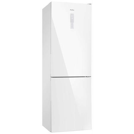 Amica FK3216GWDF 297L 60-40 Split Frost Free Freestanding Fridge Freezer - White