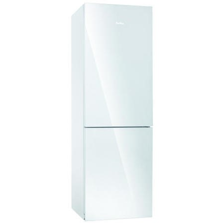 Amica FK338.6GWF Freestanding Frost Free Fridge Freezer White