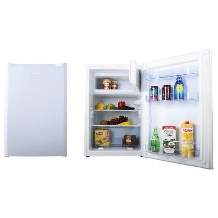 Amica FM1333 Freestanding Under Counter Fridge With Ice Box - White