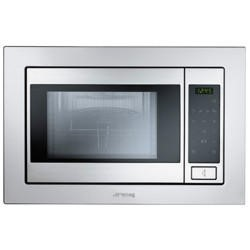 Smeg FME20TC3 Built-in 850W Touch Control Microwave with Grill Stainless Steel