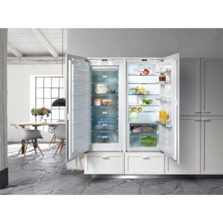 Miele FNS35402I 56cm Wide Frost Free Integrated Upright In-Column Freezer - White