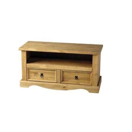 Seconique Original Corona Pine Flat Screen TV Cabinet