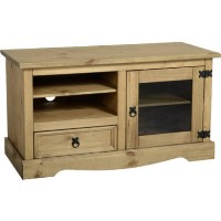 TV Stand in Pine with Storage TV's up to 48