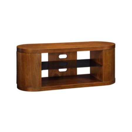 Jual Furnishings Curve Walnut TV Cabinet