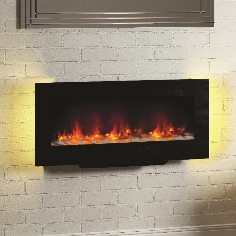 Phenomenal Bemodern Amari Black Electric Fireplace Wall Mounted Or Free Standing Download Free Architecture Designs Ogrambritishbridgeorg