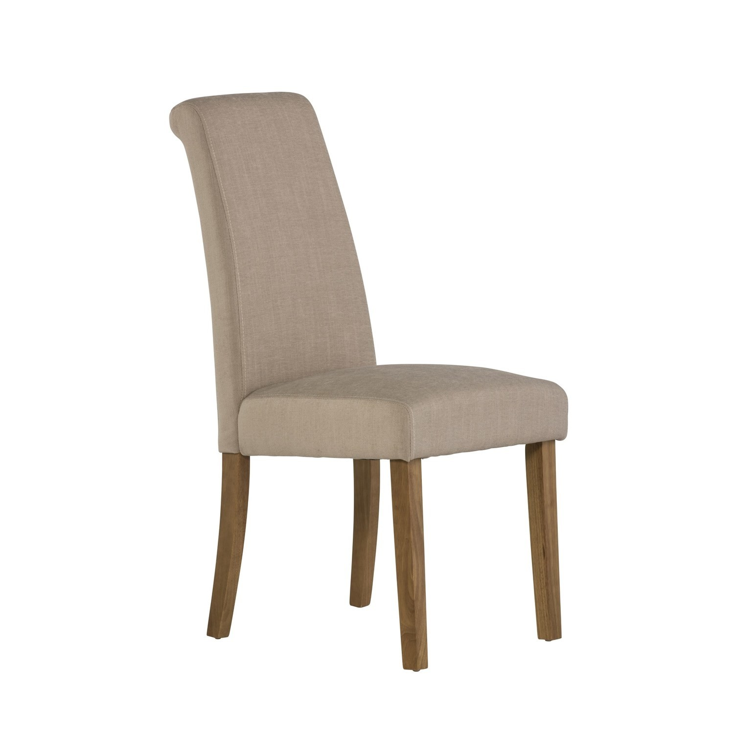 Grade A1 Tuscany Pair Of Dining Chairs In Beige Fabric 77444707 5 Fol100190 Ebay