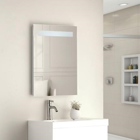 Sonora LED Bathroom Mirror with Demister Pad Shaver Socket