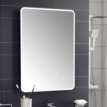 Ashan LED Universal Bathroom Mirror with Demister Pad