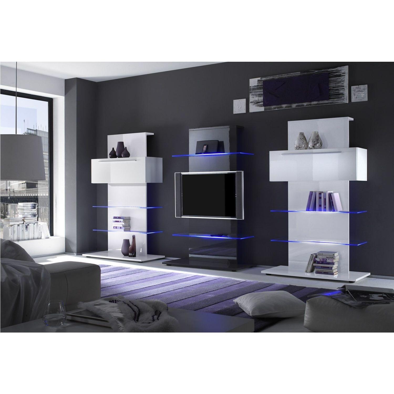 Lc Design Mobili Tv.Evoque Grey High Gloss Led Tv Stand Media Unit Holds 65 Inch Tv