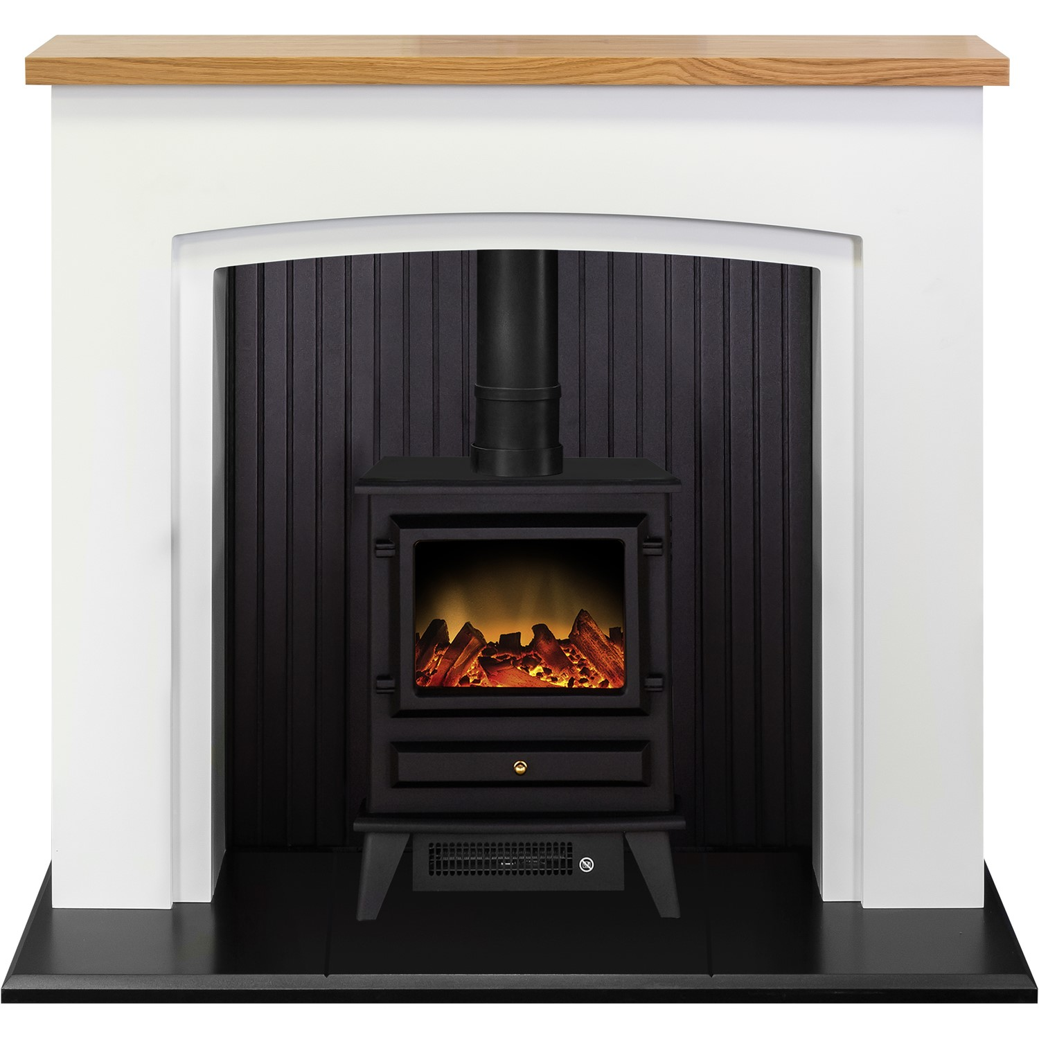 Adam Siena Electric Stove Suite With Hudson Stove Fol100490