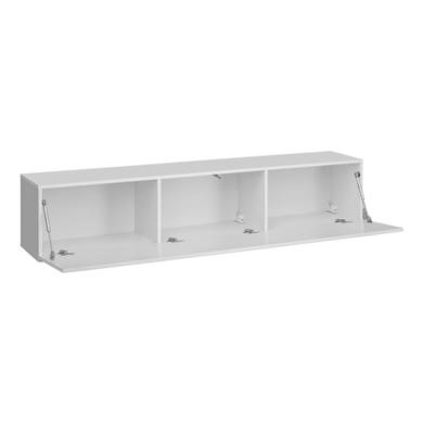"""Neo FOL100812 Large Wall Mounted TV Unit in White High Gloss TV/'s up to 56/"""""""