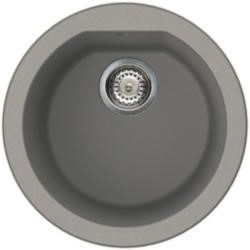 Reginox FOX-ROUND-TT 1.0 Round Bowl Regi-Granite Composite Sink Metaltek Titanium Grey