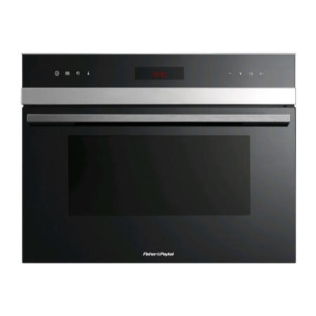 Fisher & Paykel FP80615 Compact Height Combination Microwave & Grill - Black