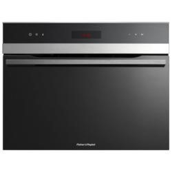 Fisher & Paykel OS60NDTX1 80781 Touch Control Compact Height Built-in Steam Oven Black