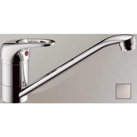 Franke Pro Top Lever Mixer Tap Silk Steel