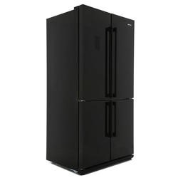 Smeg FQ60NPE Black 4-door American Fridge Freezer With Convertible Compartment
