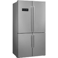 Smeg 572 Litre American Fridge Freezer - Stainless steel look Best Price, Cheapest Prices