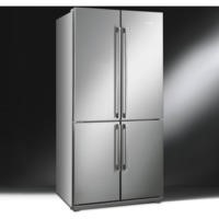 Smeg FQ60XP Stainless Steel 4-Door American Fridge Freezer With Convertible Compartment