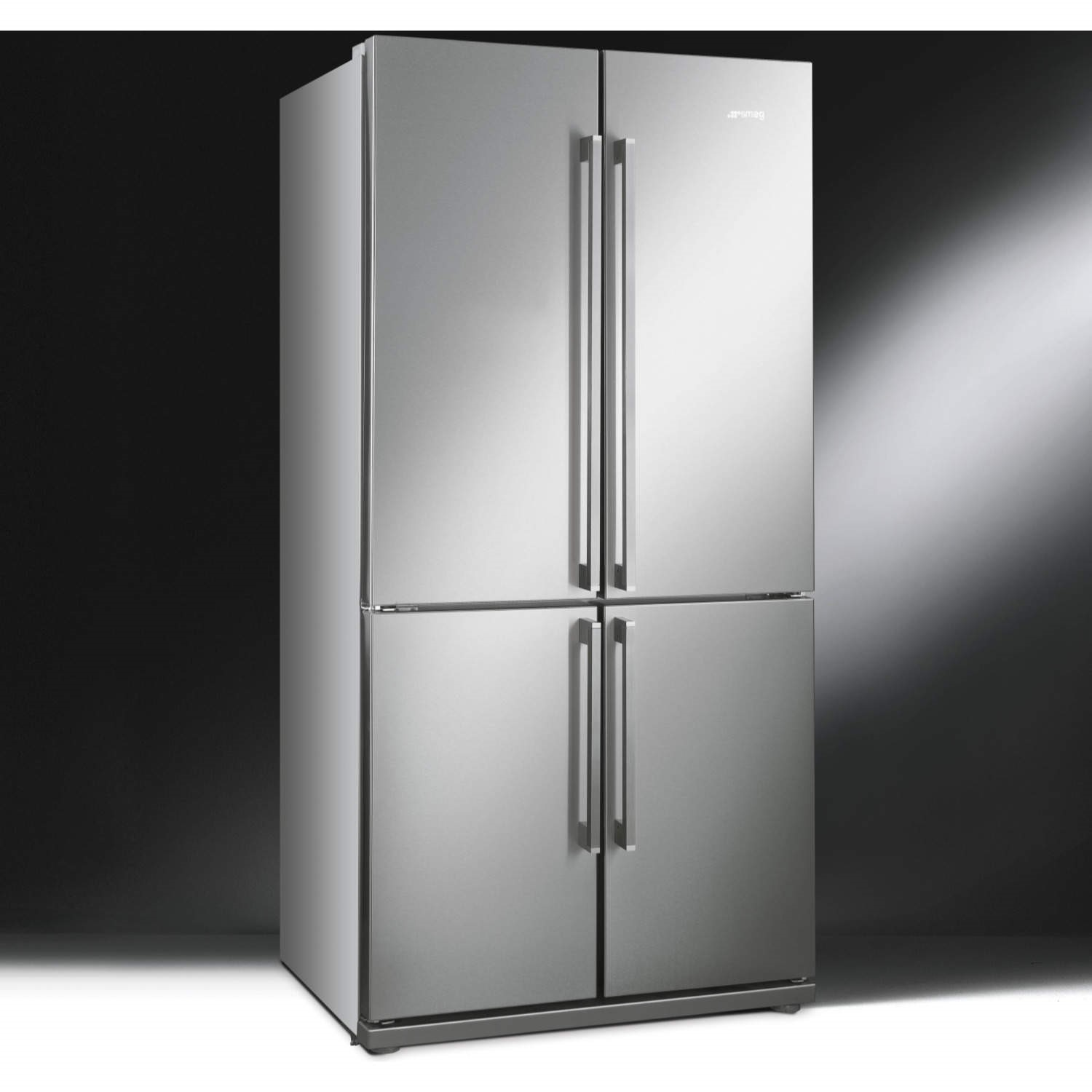 American Fridge Freezer Part - 48: Smeg FQ60XP Stainless Steel 4-Door American Fridge Freezer With Convertible  Compartment