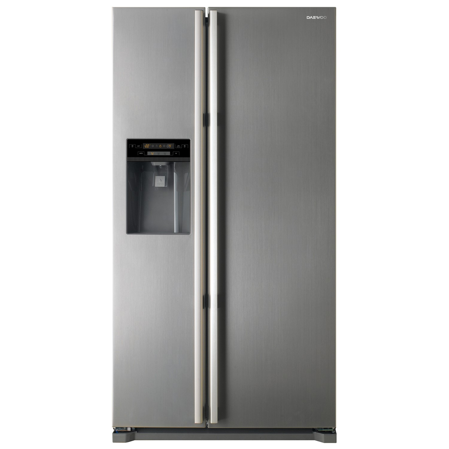 Good American Side By Side Fridge Freezer Part - 11: Daewoo FRAX22NP3S American Side-by-side Fridge Freezer With Non-Plumbed Ice  And
