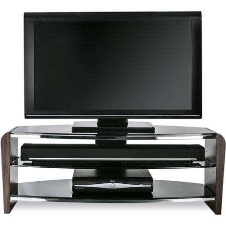 "Alphason FRN1100/3-W Francium TV Stand for up to 50"" TVs - Walnut"
