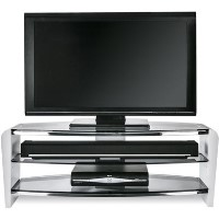 Alphason FRN1100/3WHT/SK Francium TV Stand for up to 50