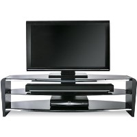 Alphason FRN1400/3BLK/BK Francium TV Stand for up to 60