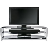 Alphason FRN1400/3WHT/SK Francium TV Stand for up to 60