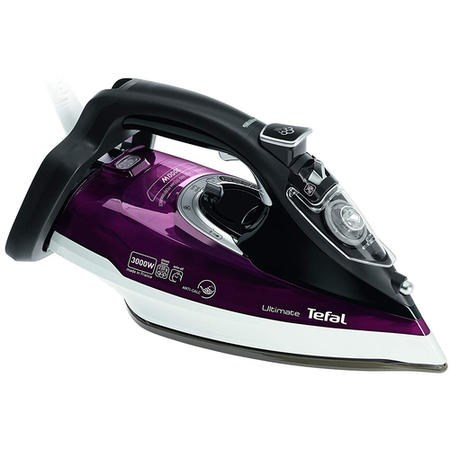Tefal FV9788 Ultimate Anti Scale Steam Iron - Dark Red & Black