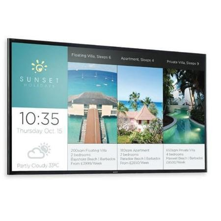Sony FW-43X8370C - 43 in LED-backlit LCD flat panel display - 4K UHDTV