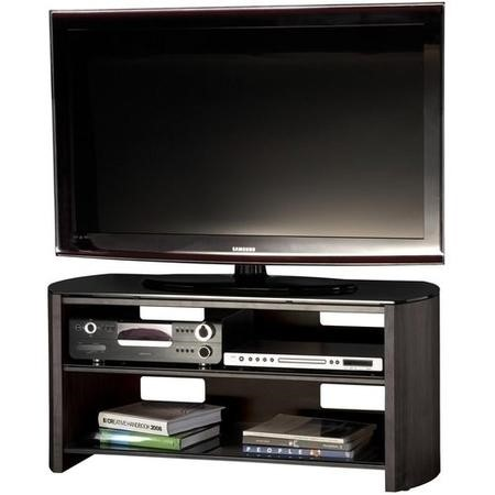 "Alphason FW1100-BV/B Finewoods TV Stand for up to 50"" TVs - Black/Oak"