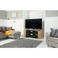 Alphason FW1100-LO/B Finewoods TV Stand for up to 50