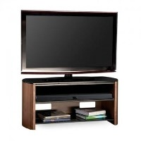 Alphason FW1100-W/B Finewoods HiFi and TV Stand for up to 50