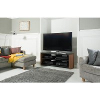 Alphason FW1350-W/B Finewoods TV Stand for up to 60