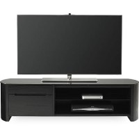 Alphason FW1350CB-BLK Finewoods Cabinet TV Stand for up to 60