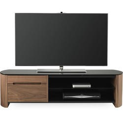 Alphason FW1350CB-W Walnut Finewoods TV Stand - Up to 60 inch
