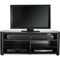 Alphason FW1350SB-BLK Finewoods Soundbar TV Stand for up to 49