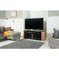 Alphason FW1350SB-LO Finewoods Soundbar TV Stand for up to 60