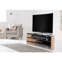 Alphason FW1400C-LO Finewoods Corner TV Stand for up to 60