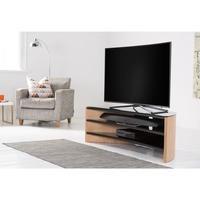 Alphason FW1400C-LO Finewoods Corner Light Oak TV Stand
