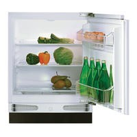 CDA FW223 Integrated Under Counter Fridge