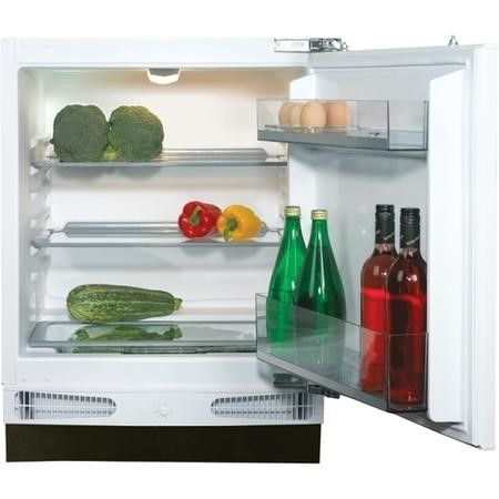 CDA FW321 60cm Wide Integrated Under Counter Fridge - White