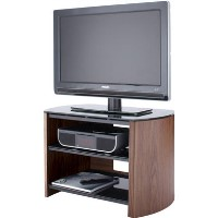Alphason FW750-W/B Finewoods 3 Shelf TV Stand for up to 32