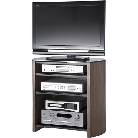"Alphason FW750/4-W/B Finewoods HiFi and TV Stand for up to 37"" TVs - Walnut"