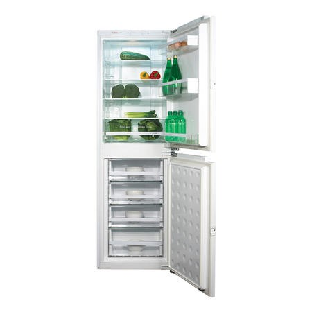 CDA FW951 56cm Wide Frost Free 50-50 Integrated Upright Fridge Freezer - White