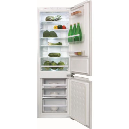 CDA FW971 56cm Wide Frost Free 70-30 Integrated Upright Fridge Freezer - White